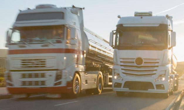 CO2-Verringerung im Straßengüterverkehr am 31. Jänner 2020