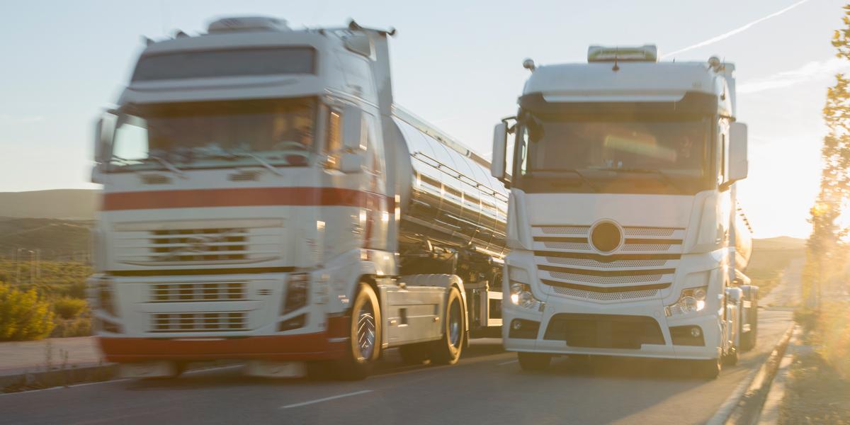 CO2-Verringerung im Straßengüterverkehr am 31. Jänner2020