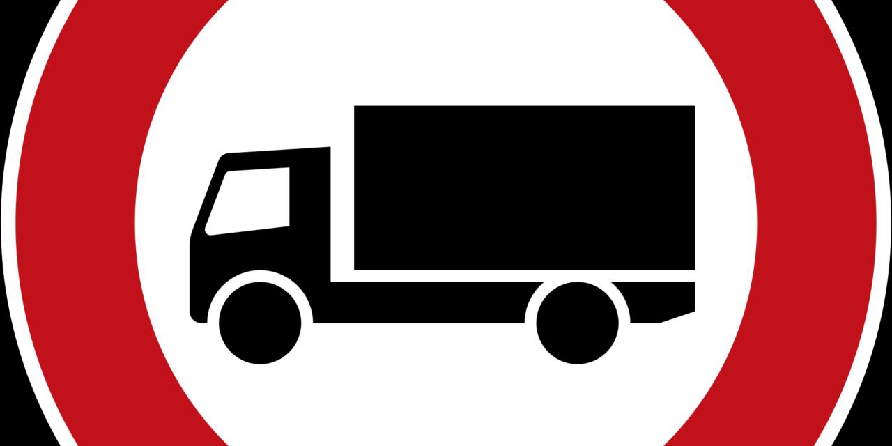 Lkw-Fahrverbot auf B320 Ennstal Straße verschärft