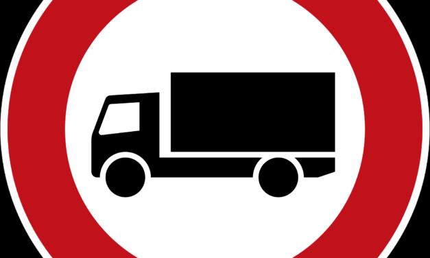 Fahrverbot für EURO 3 Lastkraftwagen im Mont-Blanc Tunnel