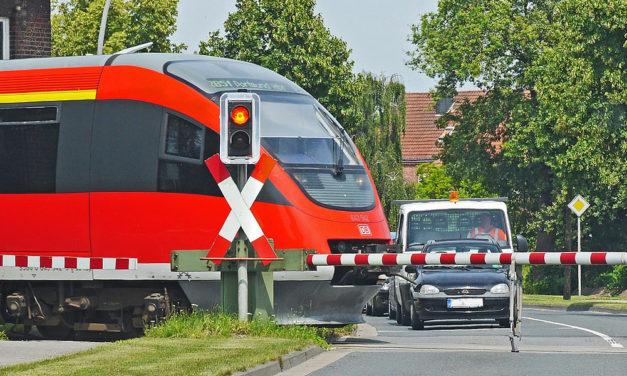 Merkblatt für Eisenbahnübergänge mit Sondertransporten