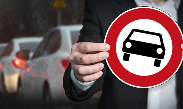 Sperre von Autobahn-Ausfahrten für Pkw-Ausweichverkehr