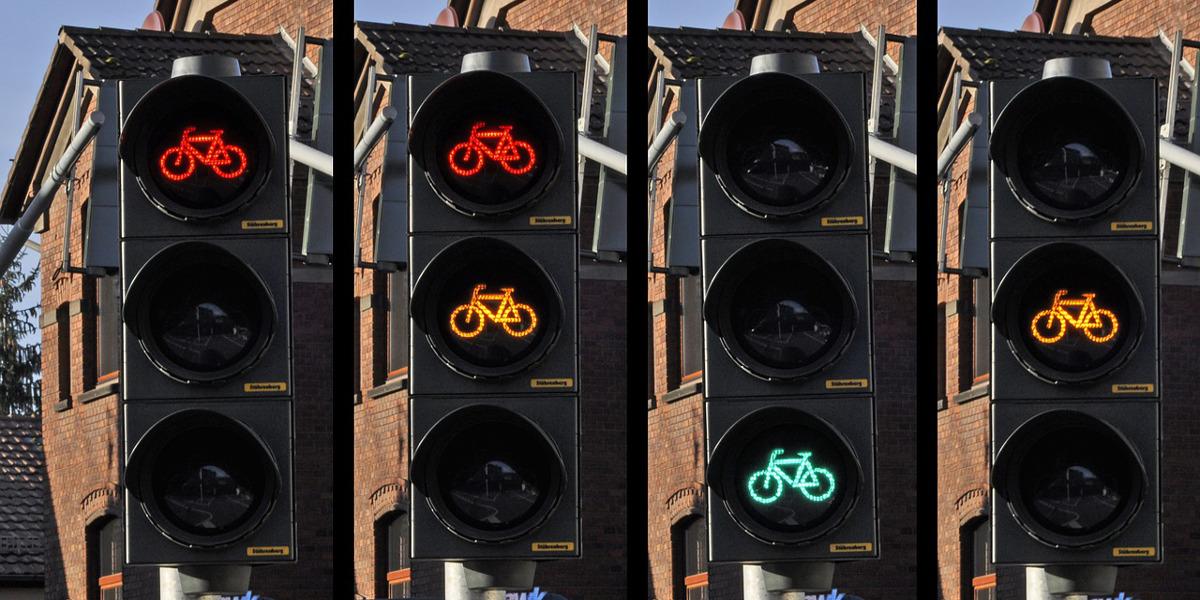 Rechte der Radfahrer gegenüber Autofahrern steigen