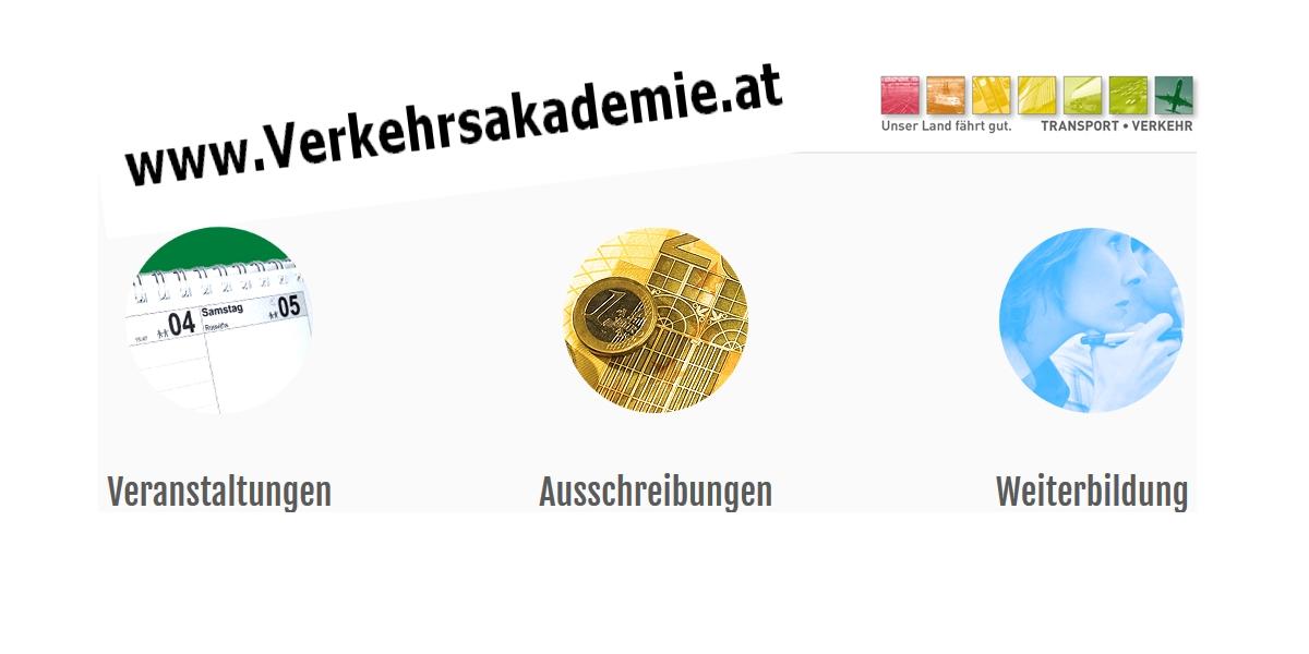 Weiterbildungsportal www.verkehrsakademie.at nutzen!