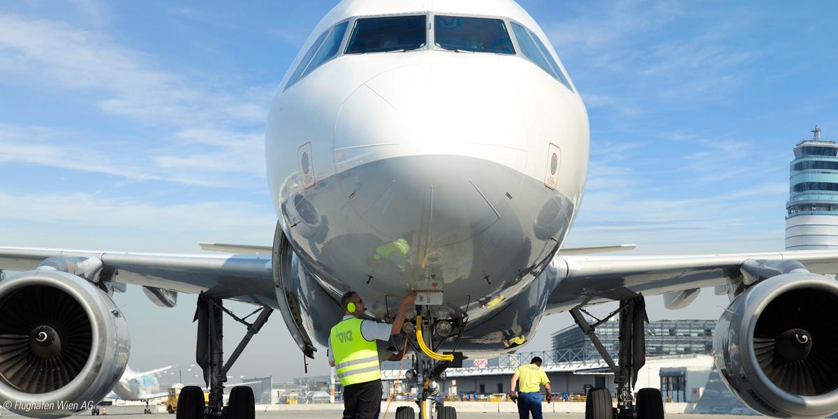 Leistungsbereich der Berufsgruppe Luftfahrt