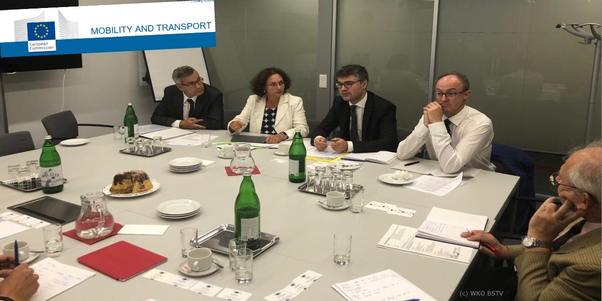 Interessenvertretung für die Verkehrswirtschaft geht unter österreichischer Präsidentschaft intensiv weiter