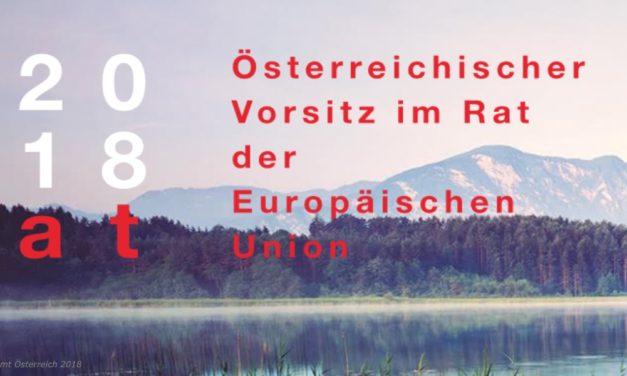 Österreich übernimmt EU-Präsidentschaft ab 1. Juli 2018