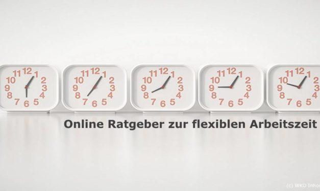 Neuer Online Ratgeber zur flexiblen Arbeitszeit