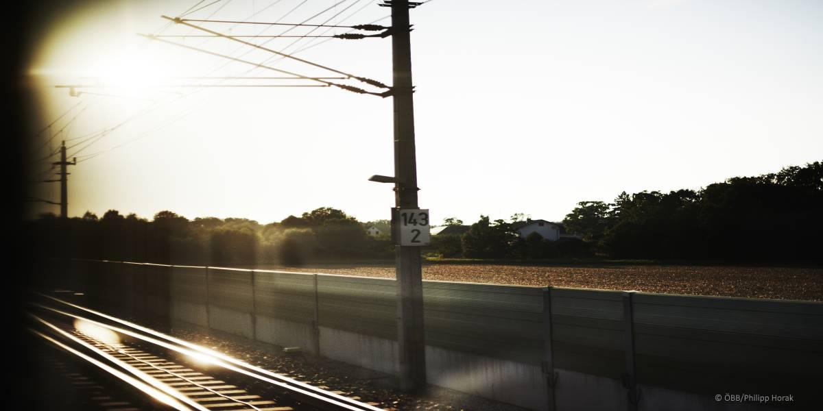 Bei ÖBB ab sofort 100 Prozent grüner Bahnstrom
