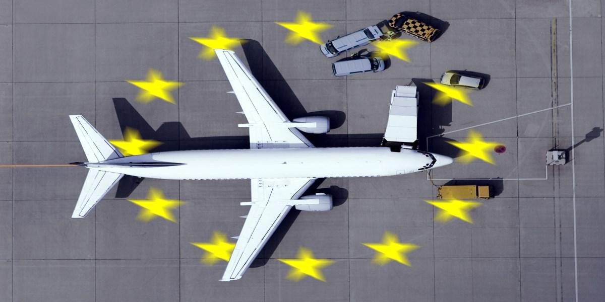 Schwarze Liste der Fluglinien mit Betriebsverbot in EU