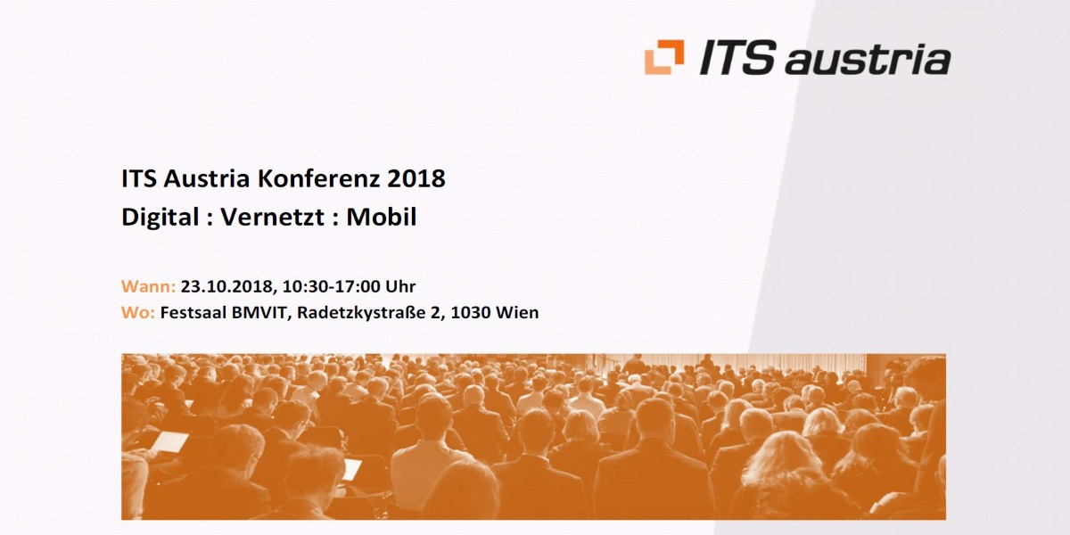 ITS Austria Konferenz am 23. Oktober2018