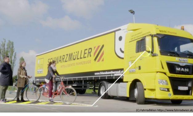 Nachrüst-Förderung von Lkw-Abbiegeassistenten wird begrüßt