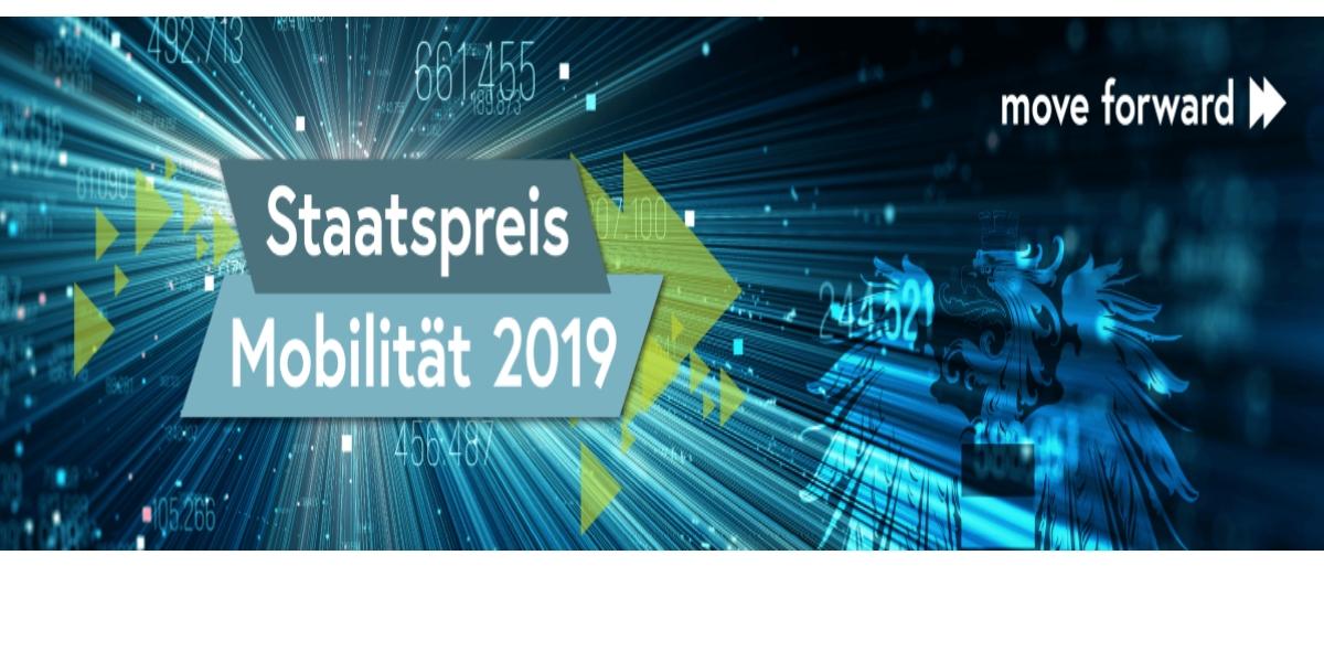 10. Staatspreis Mobilität 2019 einreichen bis 16. Juli2019