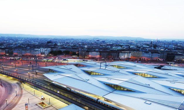 Wiener Hauptbahnhof gehört zu den besten Terminals in Europa