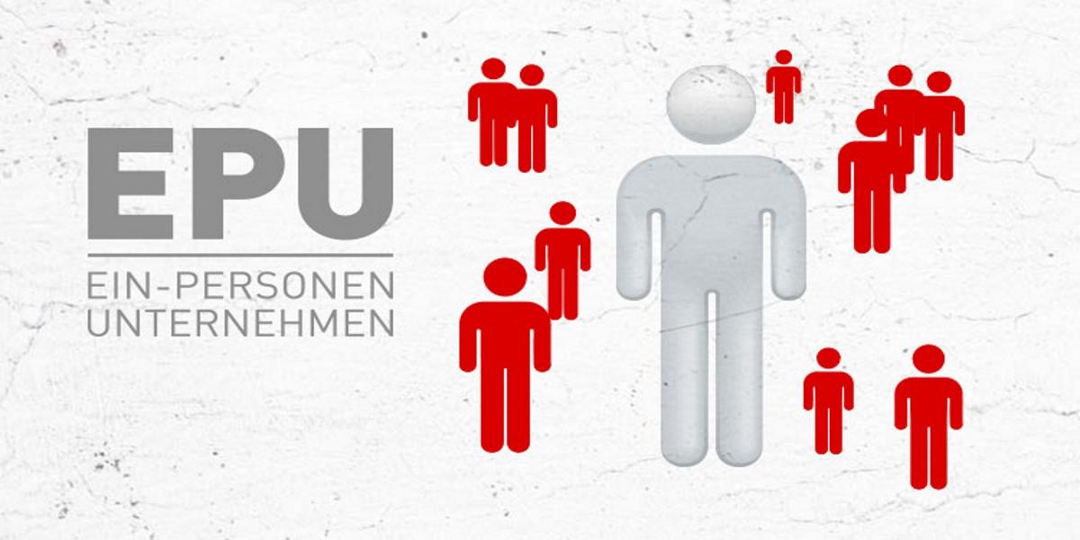 Wachstum bei Ein-Personen-Unternehmen (EPU)