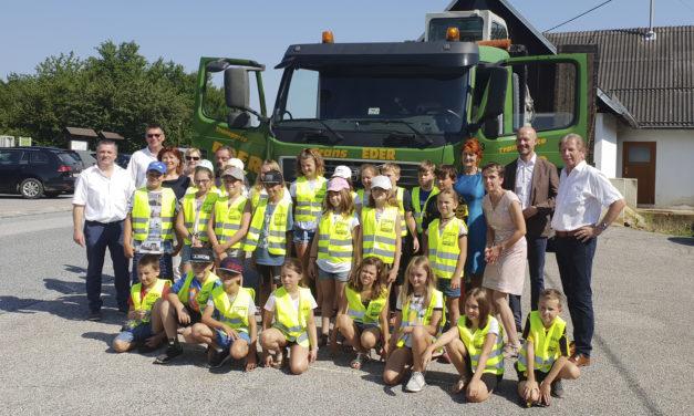 Riesenerfolg für Projekt Lkw in der Schule 2019