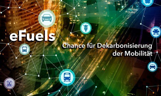Durch eFuels Beitrag zur Dekarbonisierung in der Mobilität